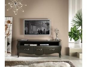 Porta tv in legno stile design Soggiorno mobile in legno mottes mobili Artigianale