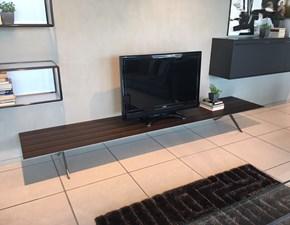 Porta tv in legno stile moderno Pass-word Molteni & c