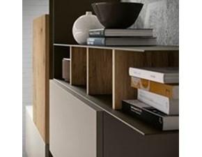 Porta tv in melamminico stile design Ls05 Siloma
