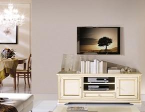 Porta tv in stile classico Artigianale in legno Offerta Outlet