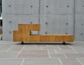 Porta tv in stile design Artigianale in legno Offerta Outlet