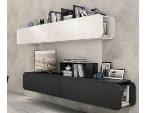 Porta tv in stile design Lube cucine in melamminico Offerta Outlet