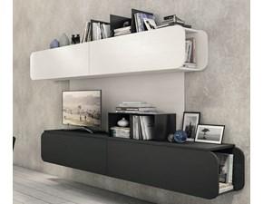 Porta tv in stile design Lube cucine in melamminico Offerta Outlet