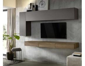 Porta tv in stile moderno Artigianale in laccato opaco Offerta Outlet