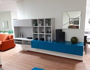 Porta tv in stile moderno Novamobili in laccato opaco Offerta Outlet