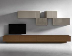 Porta tv Inclinart Presotto italia in legno a prezzo scontato