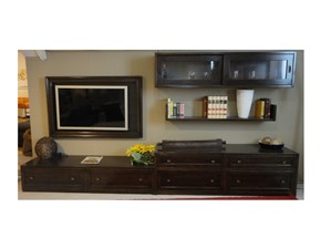 Porta tv Laccato vintage  Codia in legno in Offerta Outlet