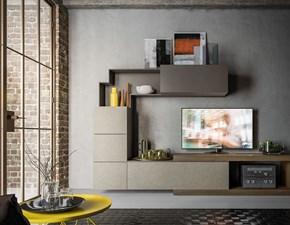 Porta tv Light day 10 mottes mobili Artigianale in stile moderno a prezzo ribassato