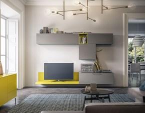Porta tv Light day 17 mottes mobili Artigianale in laminato opaco a prezzo scontato