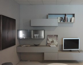 Porta tv Logo lampo Sangiacomo in stile design a prezzo scontato