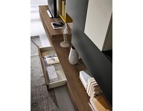 Porta tv Ls07 Siloma in stile design a prezzo ribassato
