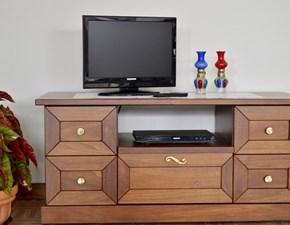 Porta tv Mirandola in legno a prezzo Outlet