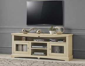 Porta tv Mobile porta tv in legno Artigianale in legno a prezzo Outlet
