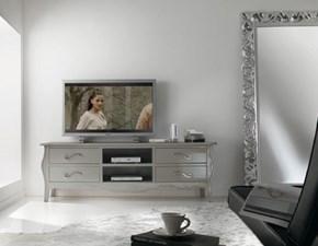 Porta tv Mobile porta tv in legno mottes mobili Artigianale in legno in Offerta Outlet
