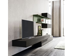 Porta tv Orme in laccato opaco a prezzo scontato