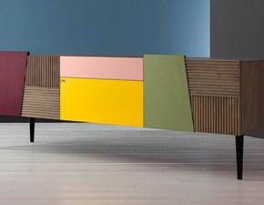 Porta tv Porta tv in rovere colorata Devina nais in stile design a prezzo ribassato