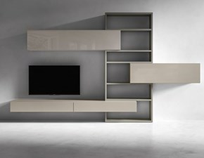 Porta tv Presotto italia in laccato lucido in Offerta Outlet