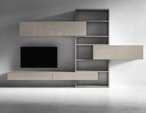 Porta tv Presotto italia in laccato lucido in Offerta Outlet