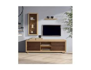 Porta tv Sidney Artigianale in legno a prezzo scontato