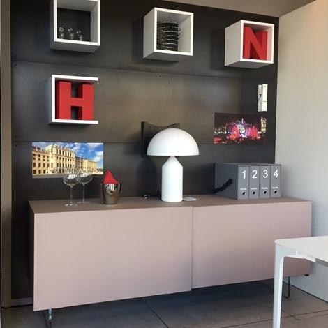 Reflex angelo soggiorno buffet mirage vetro scorrevole for Madie design prezzi
