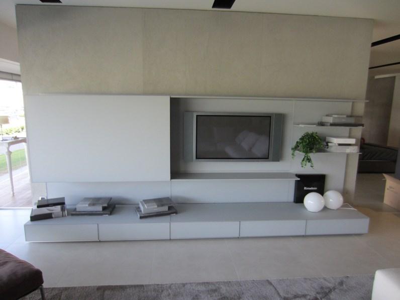 Soggiorno rimadesio abacus living porta tv - Outlet mobili moderni ...