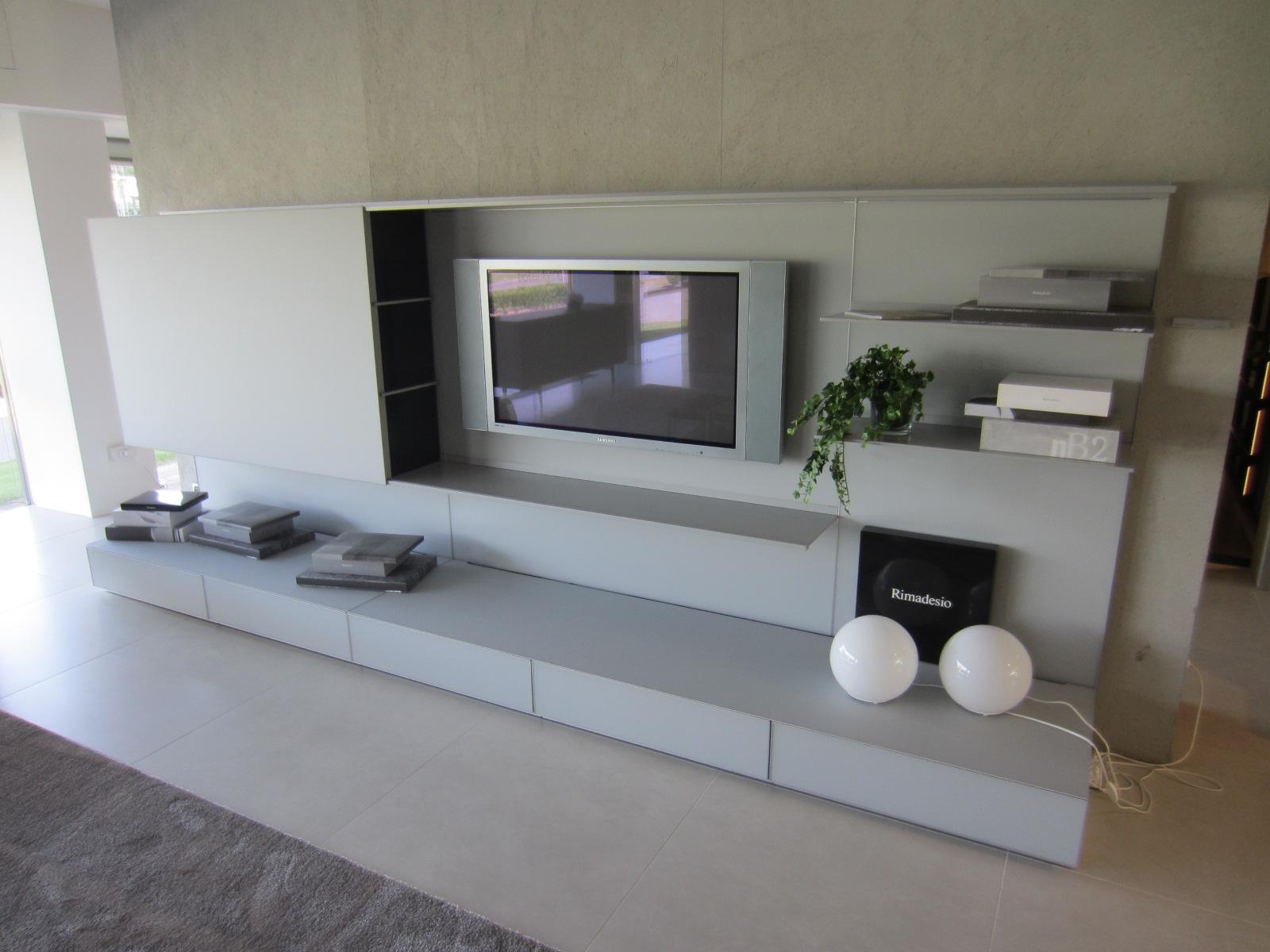 Soggiorno Rimadesio Abacus living Porta Tv - Soggiorni a prezzi ...