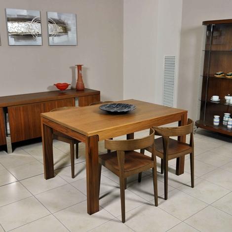 Sala da pranzo completa calligaris in vero noce naturale for Calligaris mobili