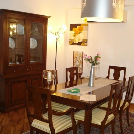 vetrina in vetro usata x sala da pranzo : sala da pranzo selva arte povera collezione voltaire composta da ...