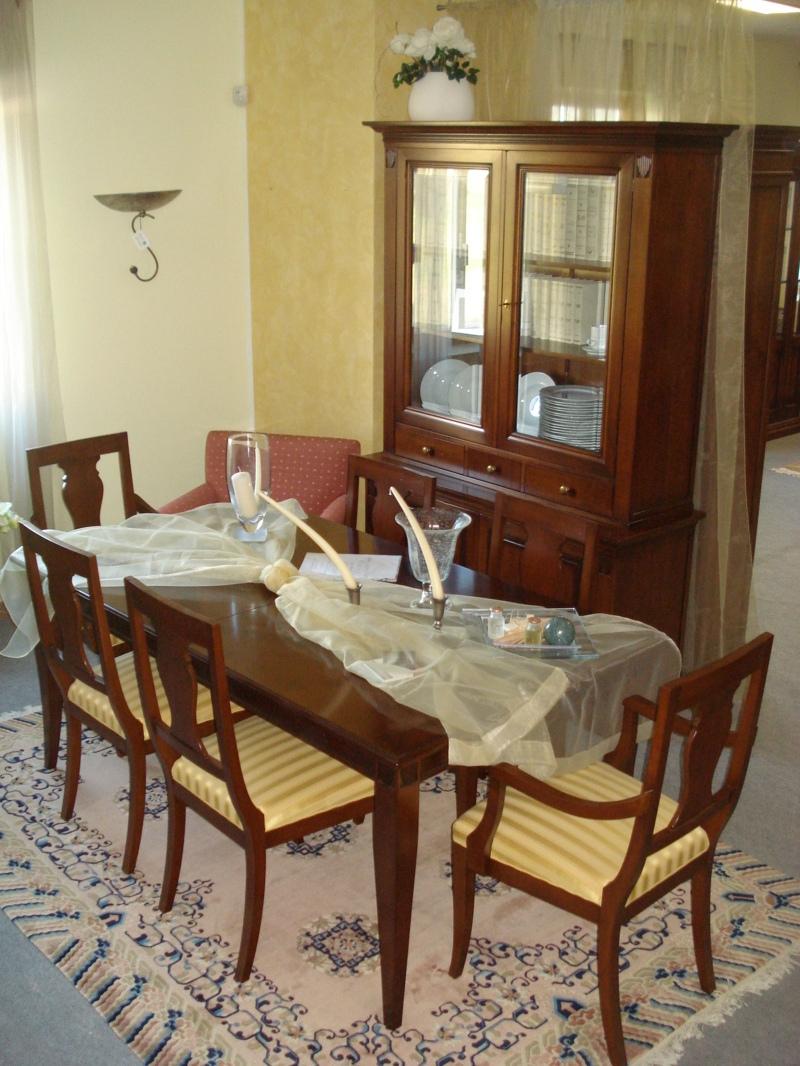 Sala da pranzo selva mod voltaire arte povera legno for Tavola sala da pranzo