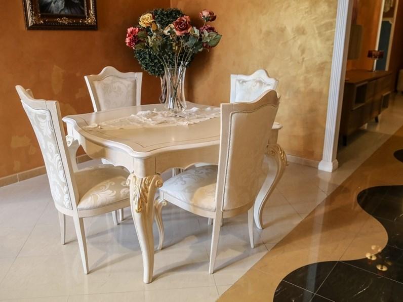 Sala da pranzo shabby chic completa di signorini coco in for Sala da pranzo offerta