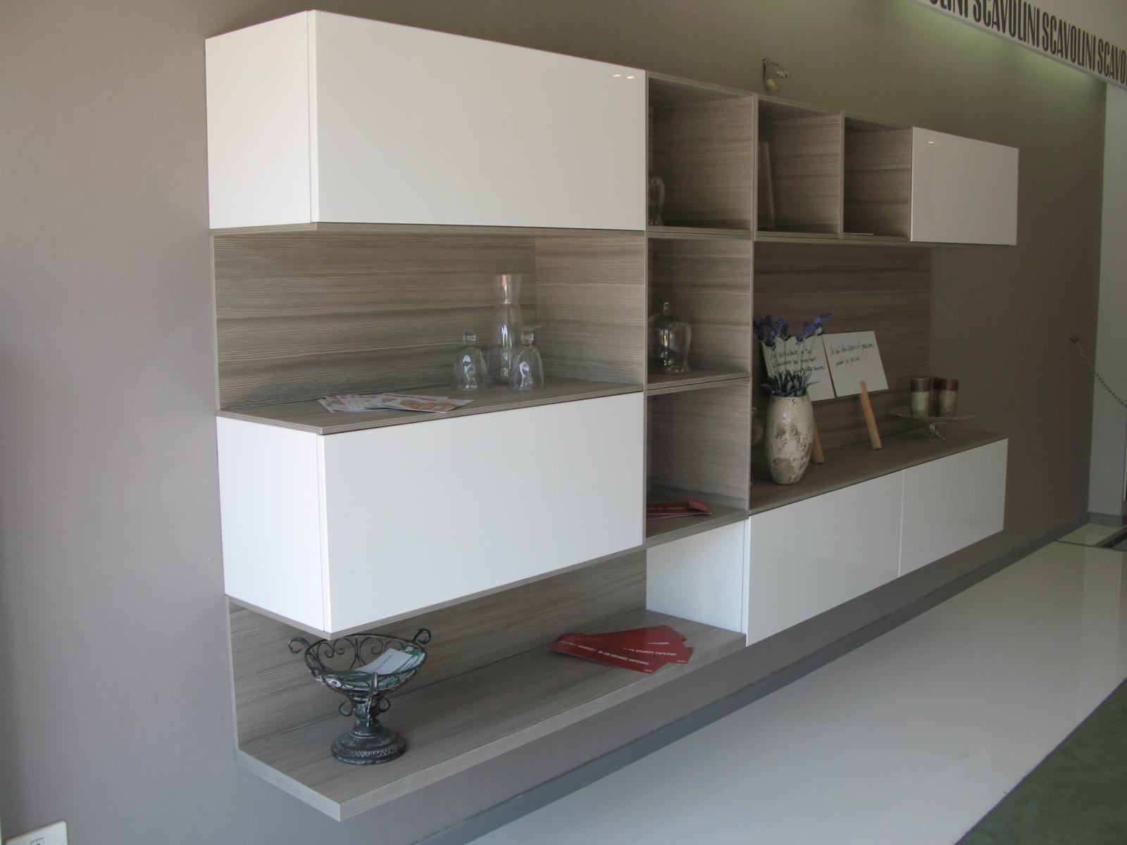Scavolini offerta outlet soggiorno mod liberamente for Scavolini pareti attrezzate