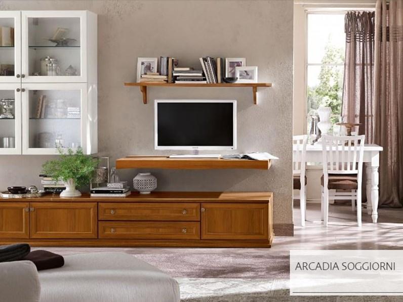 Soggiorno arcadia modello as210 soggiorni a prezzi scontati for Dimensione casa arredamenti