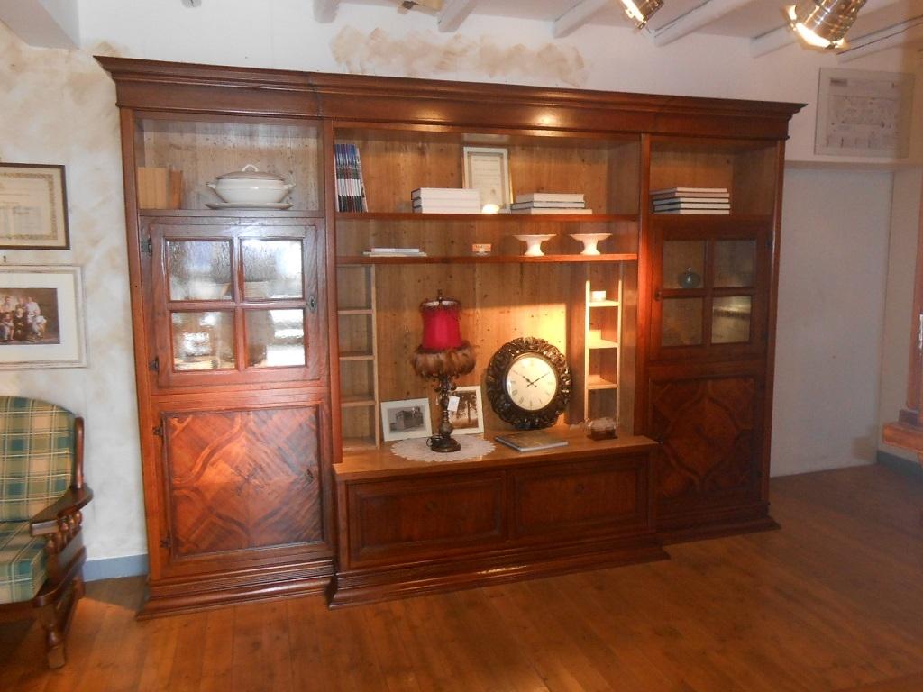 Soggiorno arte brotto vere antichit legno librerie classici soggiorni a prezzi scontati - Mobili arte brotto ...