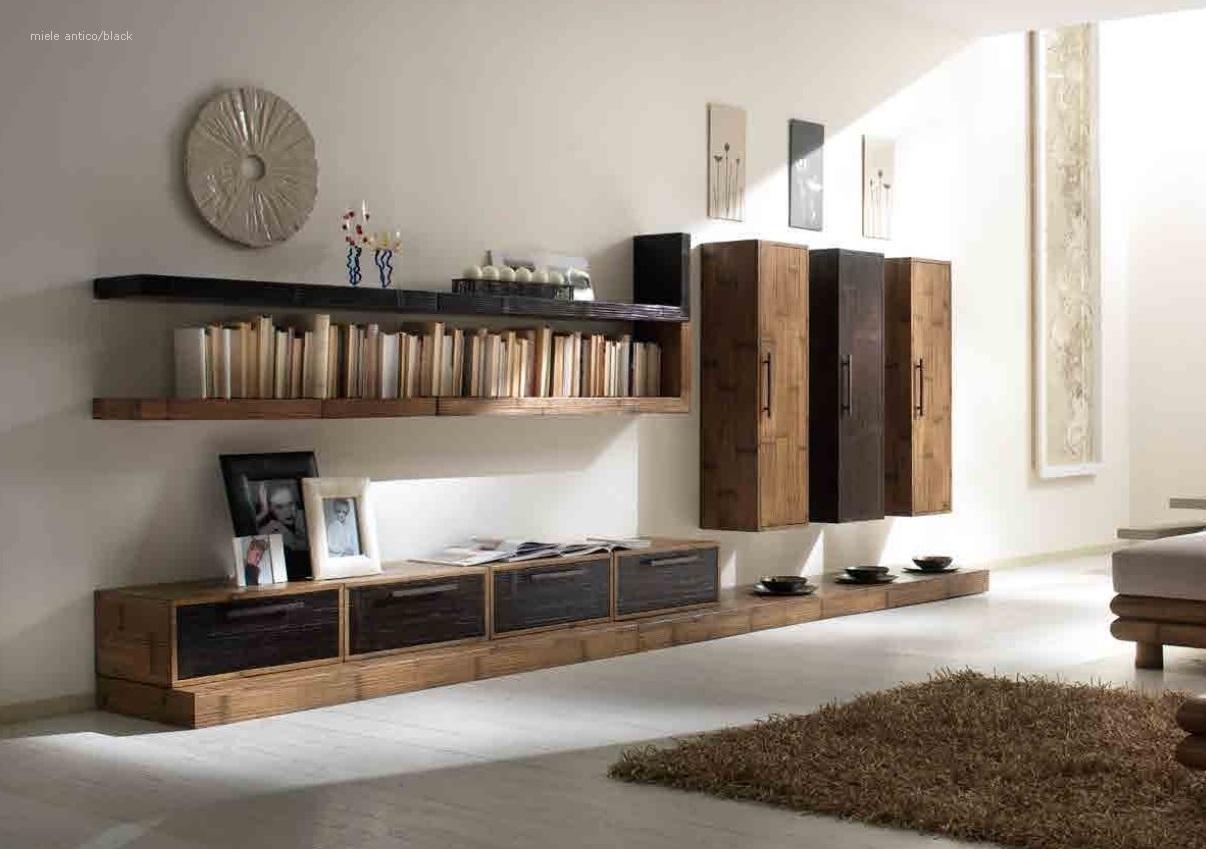 Soggiorno Bortoli Composizione Infinity Convenienza Etnica Componibili #372B20 1206 849 Mobili Componibili Per Cucina Ikea