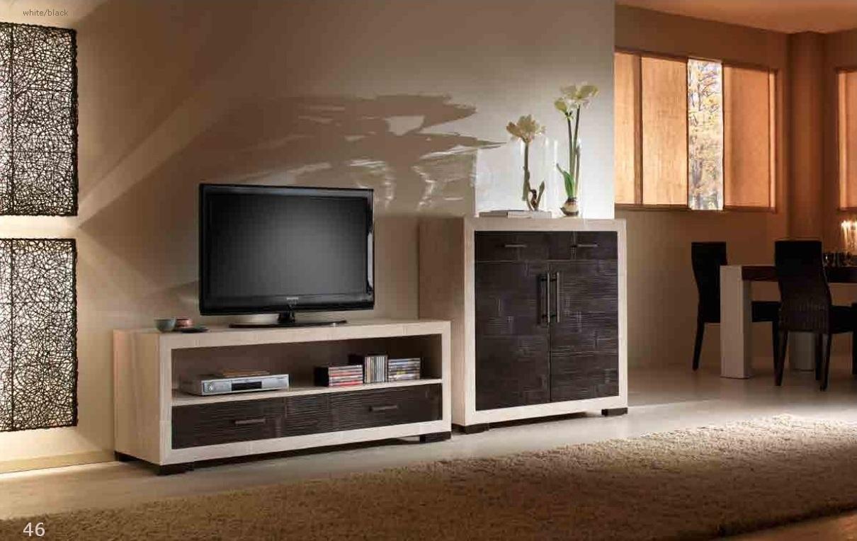 Case classiche contemporanee arredate - Mobili tv vintage ...