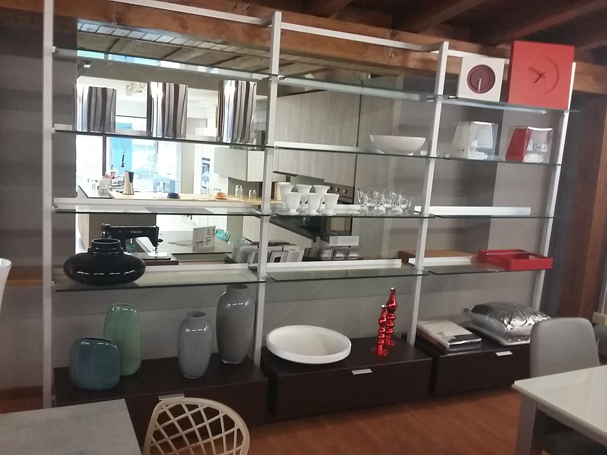 libreria calligaris modello gallery in vetro - soggiorni a prezzi ... - Soggiorno Calligaris