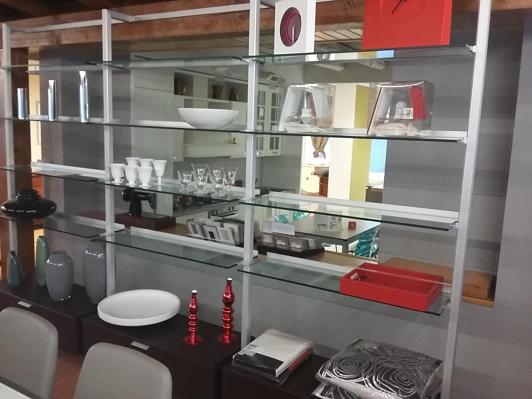 Libreria calligaris modello gallery in vetro soggiorni a for Librerie design outlet