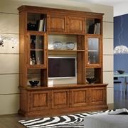 mobile soggiorno in legno stile classico provenzale