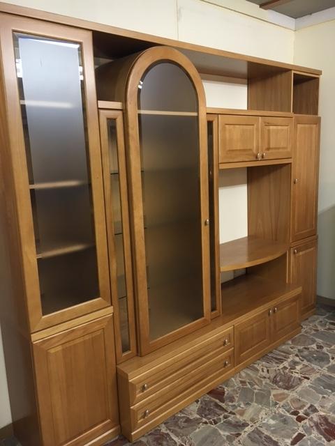 Soggiorno classico in legno soggiorni a prezzi scontati - Soggiorni in legno ...