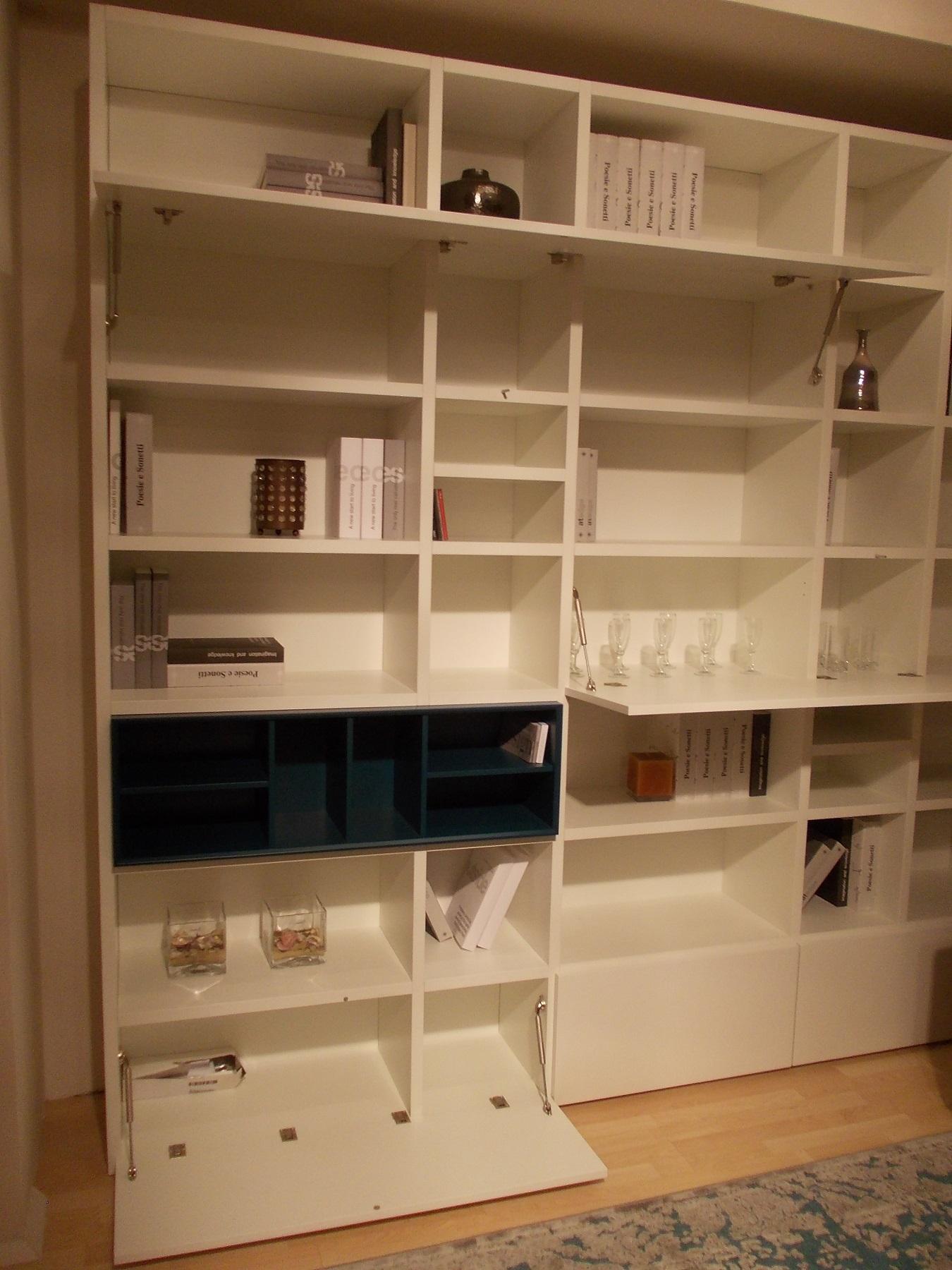 Librerie soggiorno moderne ~ Decora la tua vita
