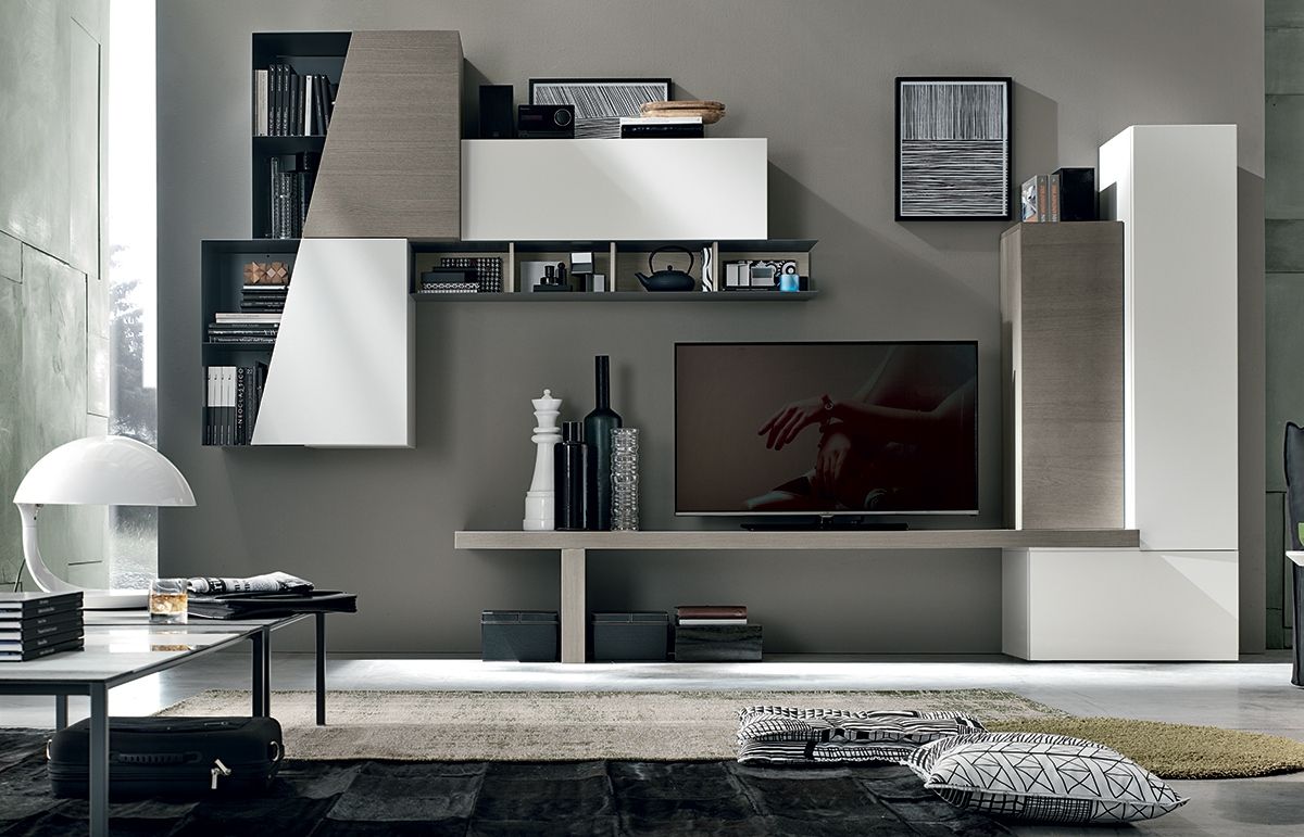 Soggiorno compas composizione a016 soggiorni a prezzi for Ikea soggiorni