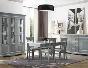 Soggiorno completo Artigianale Mottes mobili composizione sala pranzo SCONTO 40%