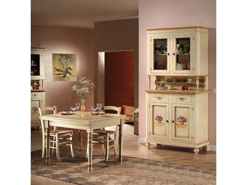 Soggiorno completo Artigianale Sala da pranzo in stile classico ...