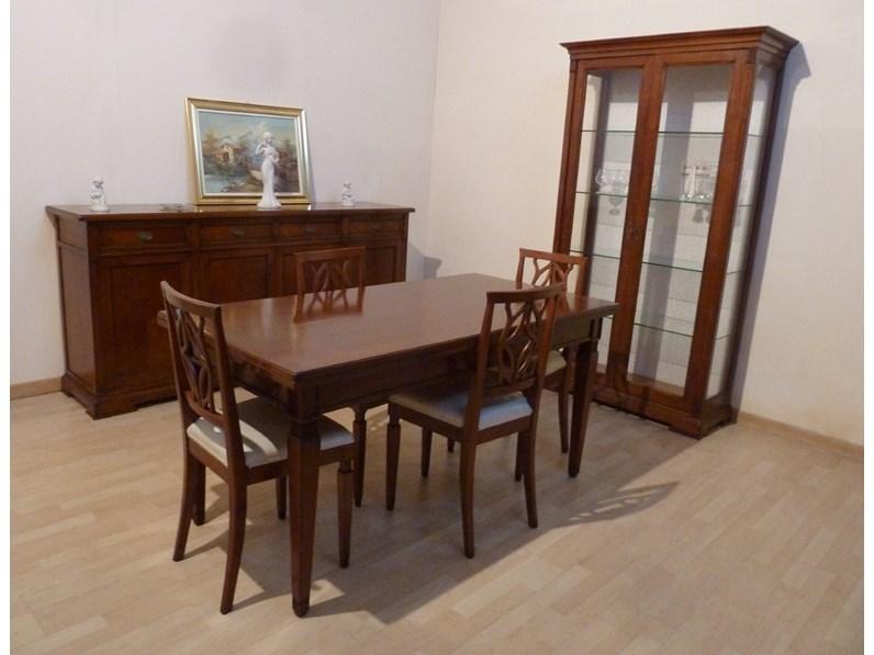 Soggiorno completo in legno stile classico Clivia aster ...