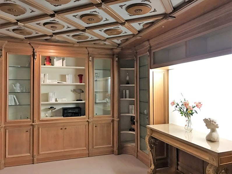 Soggiorno completo in legno stile classico Divina Villanova