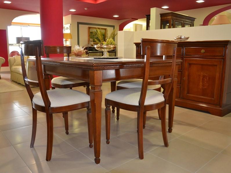 Soggiorno completo in legno stile classico I ciliegi Le fablier