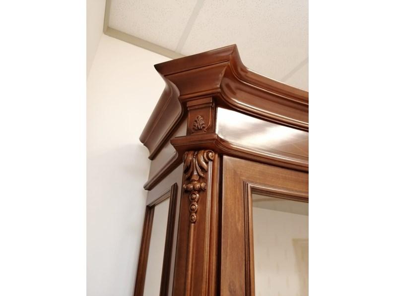 Soggiorno completo in legno stile classico Mod 700 Stilema