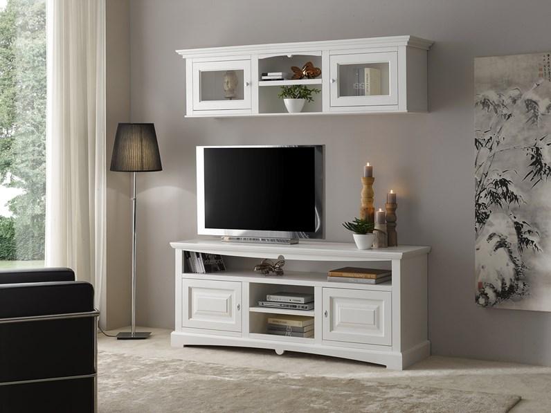 Soggiorno completo in legno stile classico Soggiorno in legno mottes mobili  Artigianale