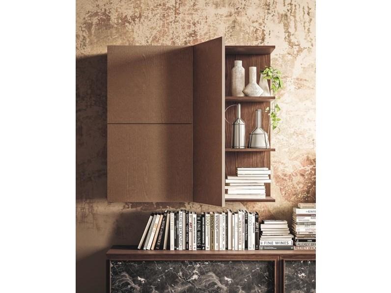 Soggiorno completo in legno stile moderno day 12 di san for Soggiorno stile moderno