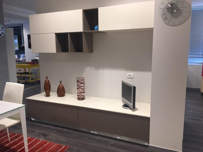 Soggiorno completo in legno stile moderno modello feel scavolini anta sp 3 scavolini - Mobili soggiorno scavolini ...